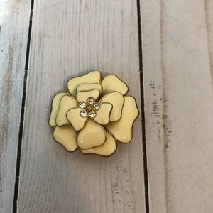 Stella and Dot Flower Brooch Pin